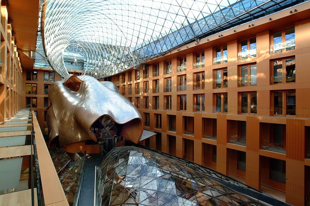 Интериорът на Commerzbank, Берлин