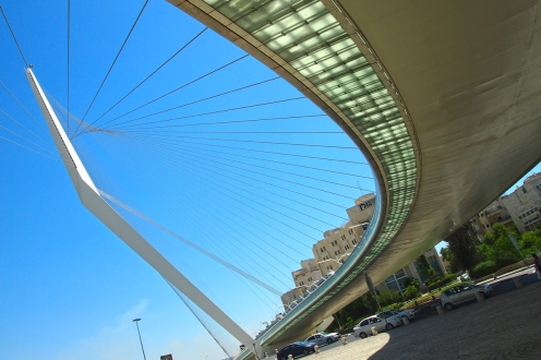 Мостът Арфата на Давид, Йерусалим