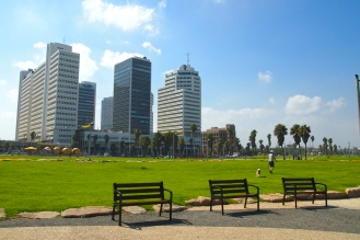 Новата част на Тел Авив