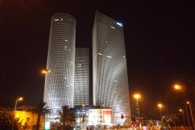 Кулите Azrieli в Тел Авив
