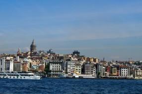 Панорама от Истанбул с кулата Галата