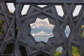 Изглед към Босфора от двореца Топ Капъ