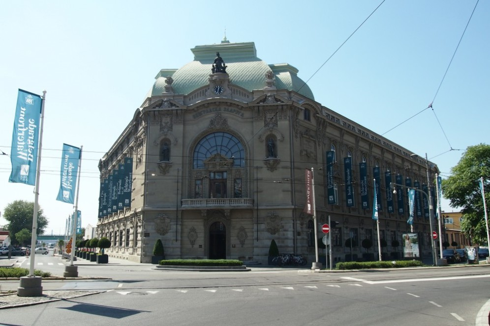 Реставрирана сграда в кв.Савамала, Белград