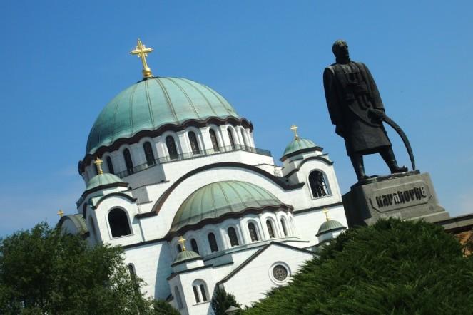 Църквата Свети Сава е най-големият православен храм в Сърбия, катедрала на Сръбската православна църква.