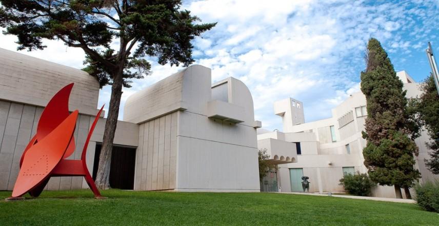 сградата на Фондация Хуан Миро