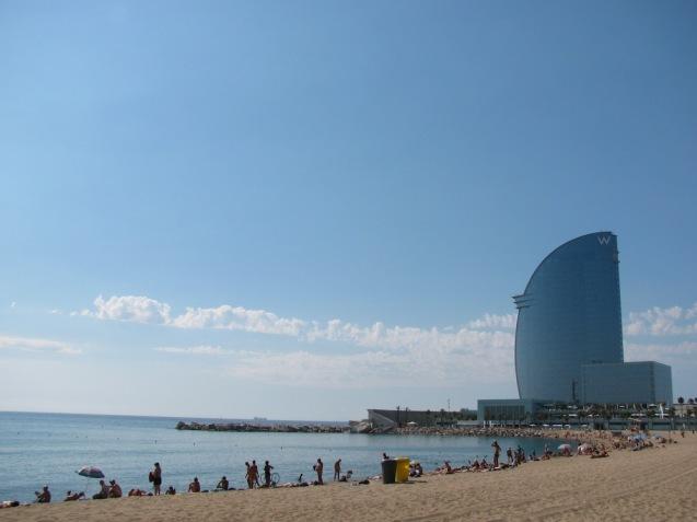 Плажът на Барселона