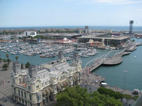 Пристанището на Барселона