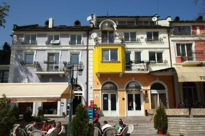 жълтото балконче