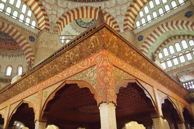 Част от интериора на Селимие джамия