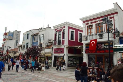 Главната търговска улица на Одрин
