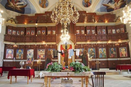 Олтара на Узунджовската църква