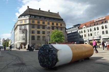 Площада пред гарата в Осло
