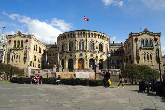 Парламента на Норвегия - Stortinget