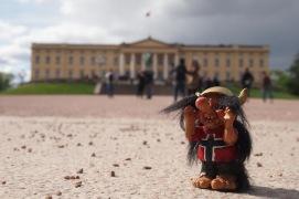 Кралския дворец в Осло