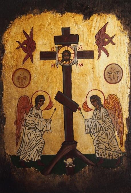 Ангели със светия кръст
