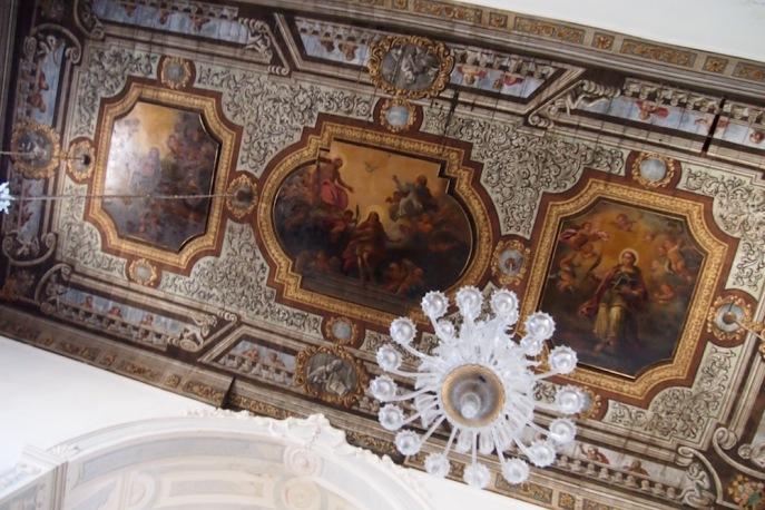 Таванът на катедралата