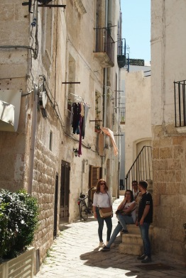 Стария град и туристите