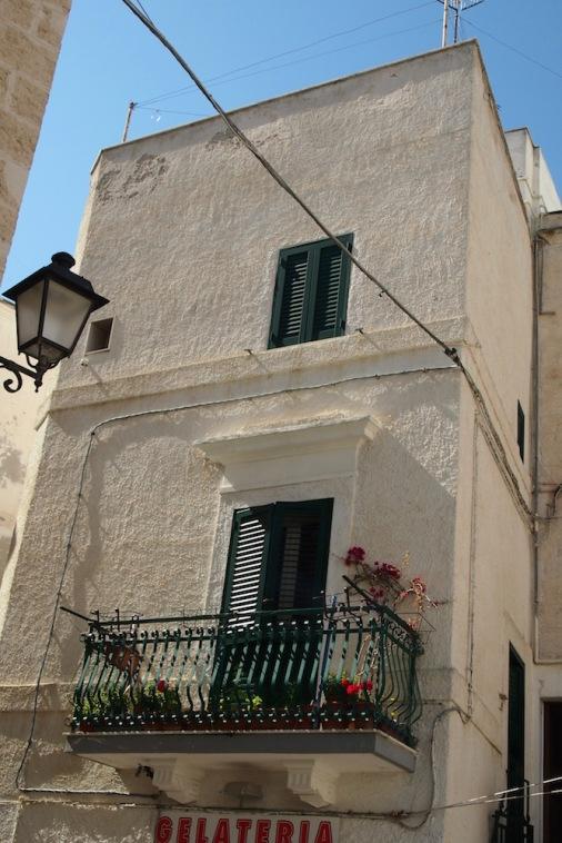 Фасада в старая град