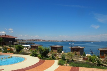 Изглед към спа центъра в Созополис