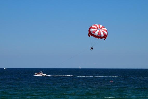 Полет над морето