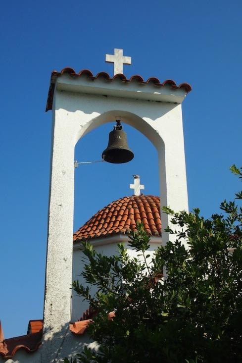Камбанарията на параклиса на Пантанаса