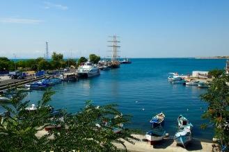 Пристанище Несебър