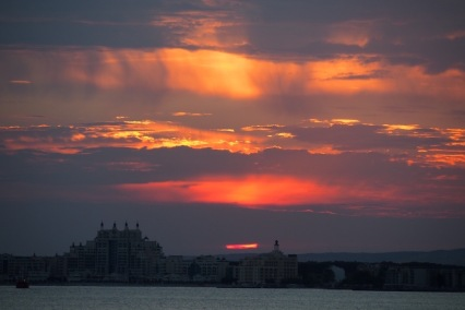 Огнени облаци