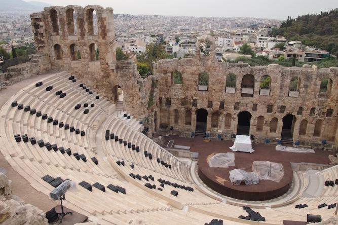 Древногръцкия театър Иродио