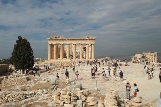 Партенонът - главният храм на Атинския акропол