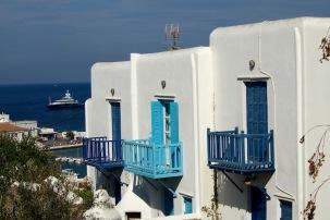 Характерната архитектура за Миконос