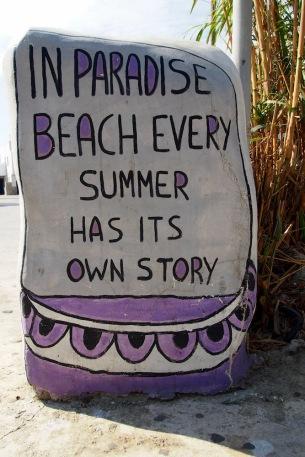 На райският плаж, всяко лято си има своя история
