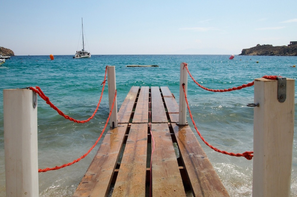 Плажът Super Paradise