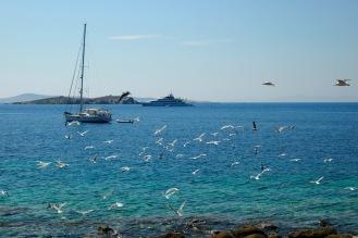 Морето край Миконос