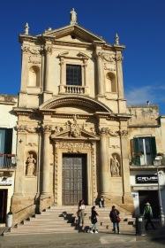 Площад Сант Оронцо в сърцето на града