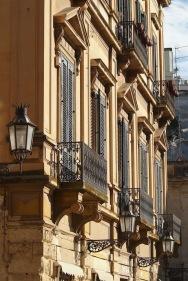 Фасада в центъра на Лече