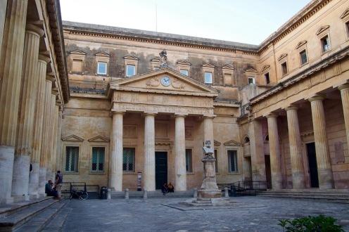 В историческия център на Лече