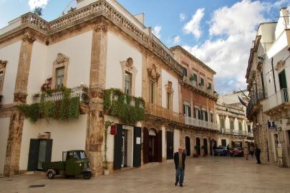 На площада в стария град