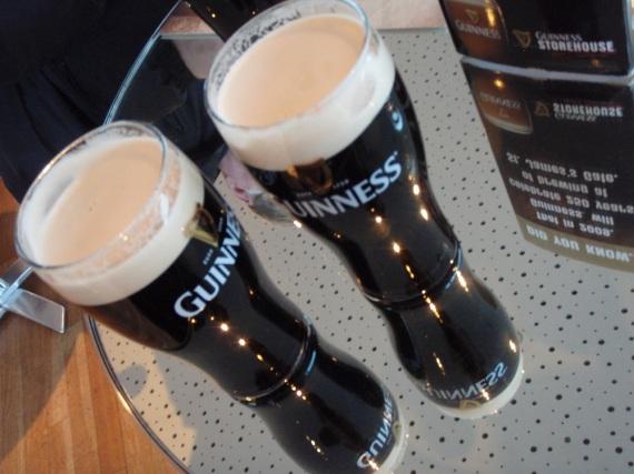 Световно известната бира Guinness в Gravity Bar