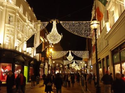 Коледната украса в Дъблин