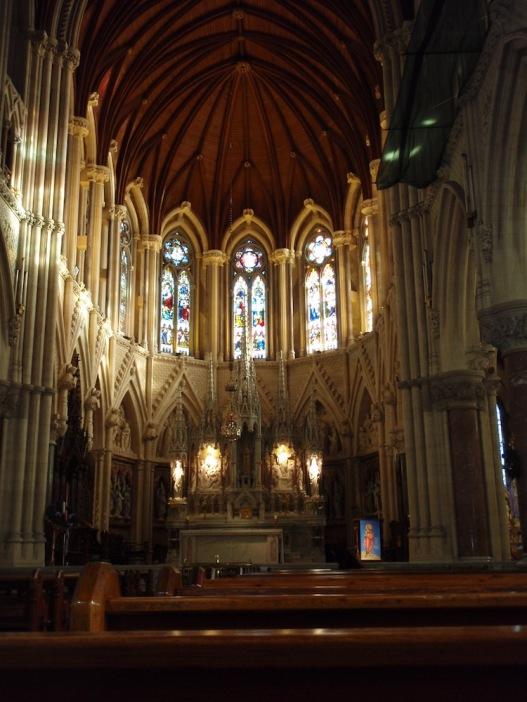 Интериора на катедралата Сейнт Колман