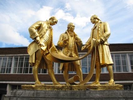Статуята Тримата мъдри мъже