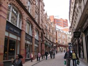 По централните улици