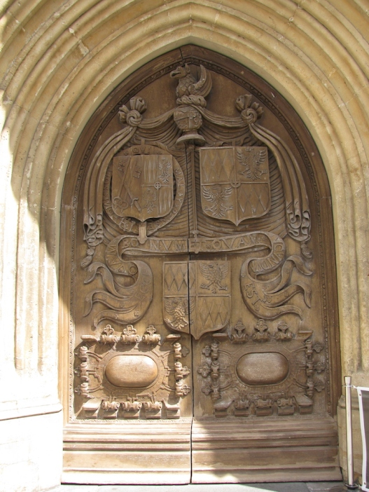 Портата на абатството