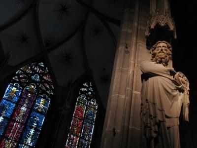 Интериора на катедралата