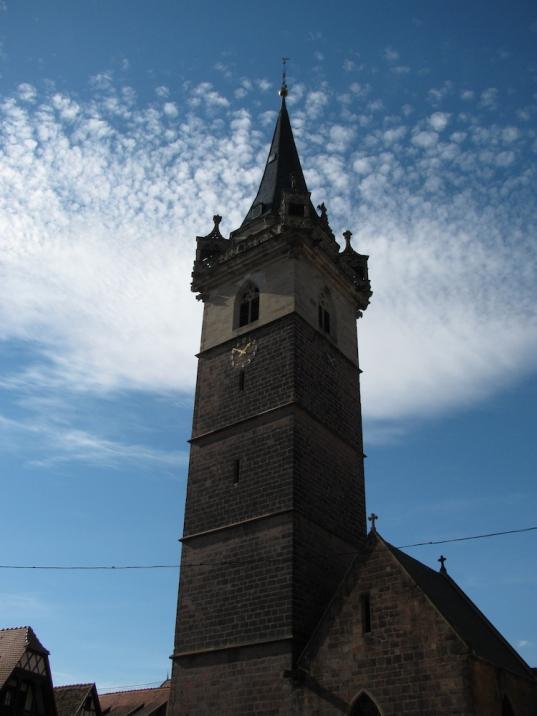 Часовниковата кула в Оберне