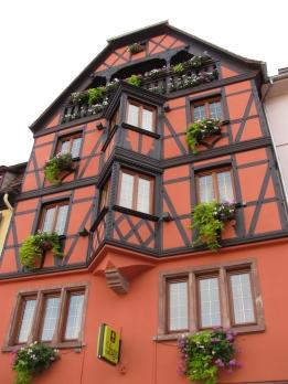 Типична фасада за Оберне