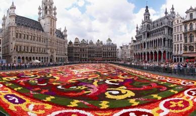 Цветния килим на Гран плас