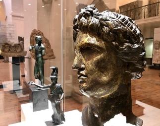 Глава от статуя на Аполон - II-III в.