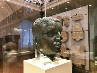 Глава от статуя на император Гордиан III