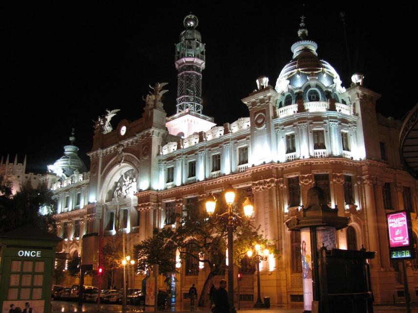 Нощна Валенсия